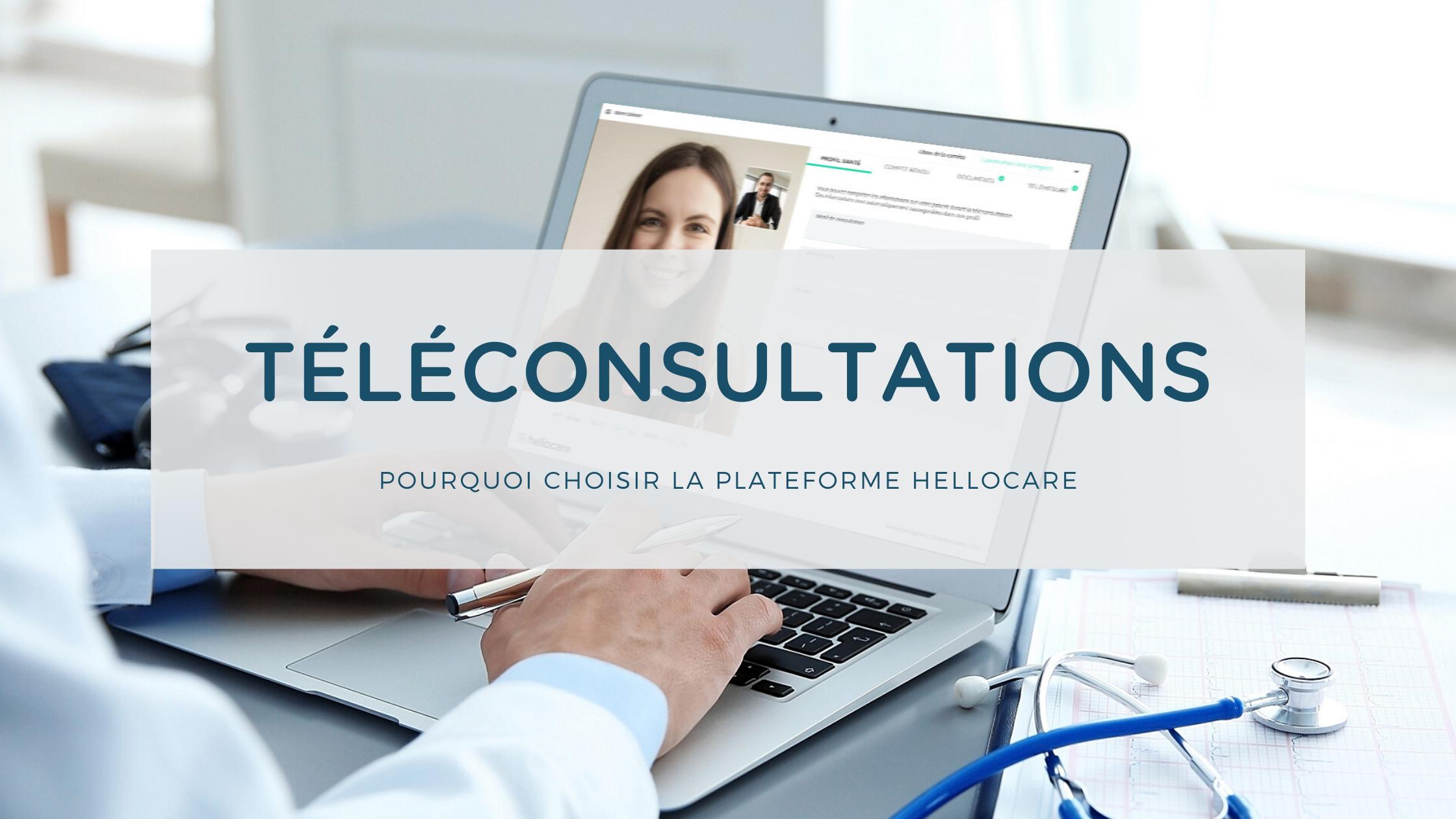 plateforme de téléconsultation Hellocare