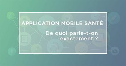 application sante