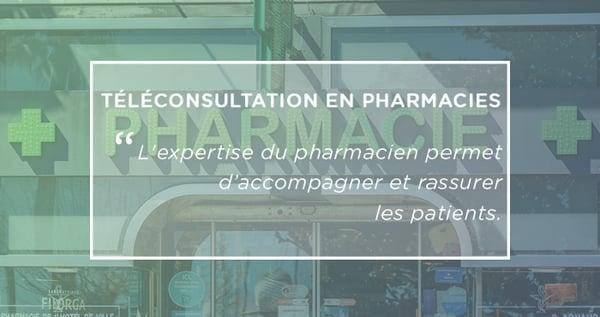 téléconsultations en pharmacies