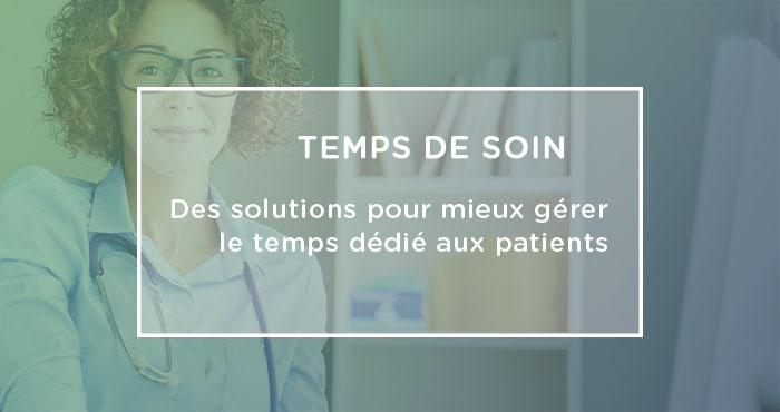 gestion patients quotidien médecin