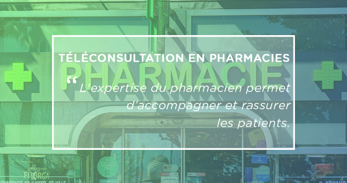 solution de téléconsultations en pharmacies