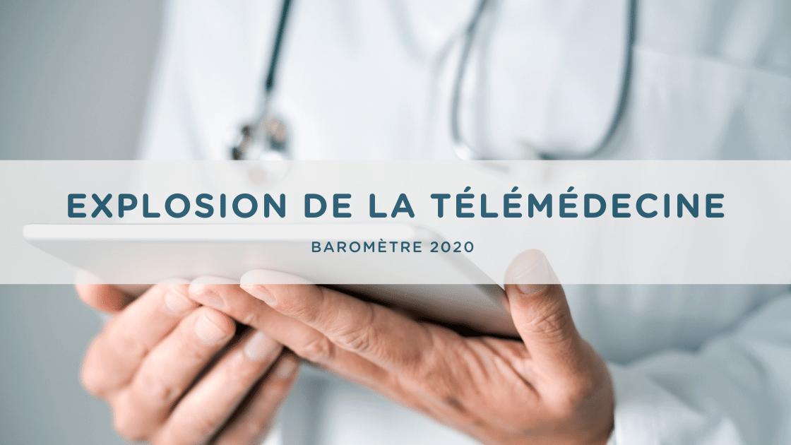 explosion de la télémédecine en France en 2020